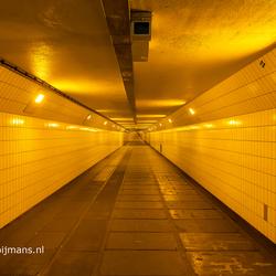 De Fietstunnel in Rotterdam