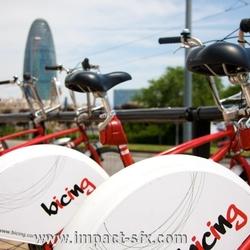Biking Barcelona