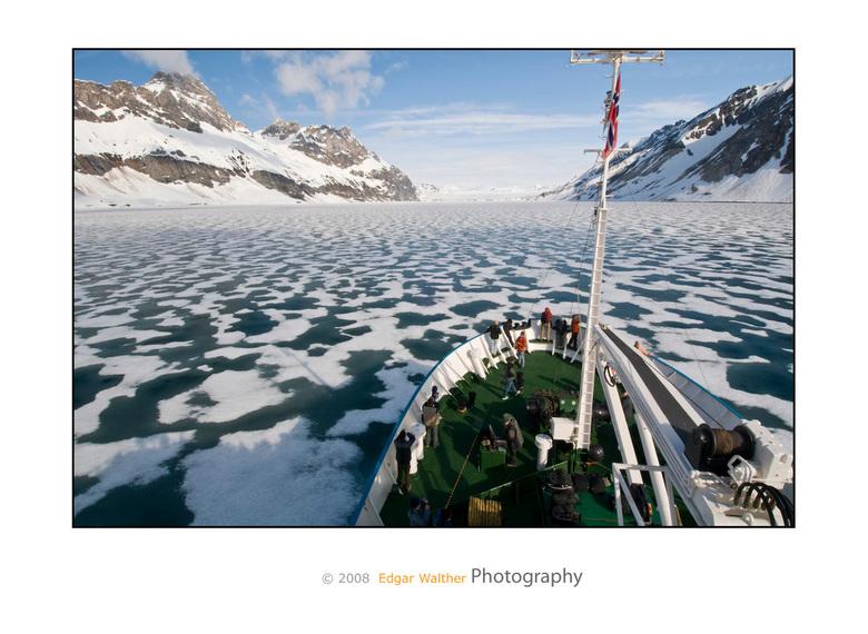 Spitsbergen - Hornsund Fjord met boot