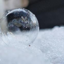 Bevroren luchtbel
