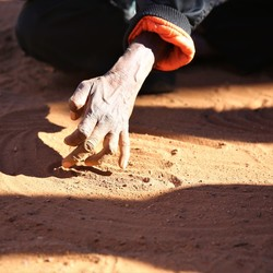 Tekenen van een Aboriginal