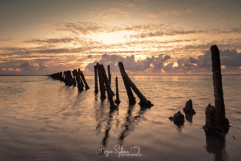 Gouden zee -