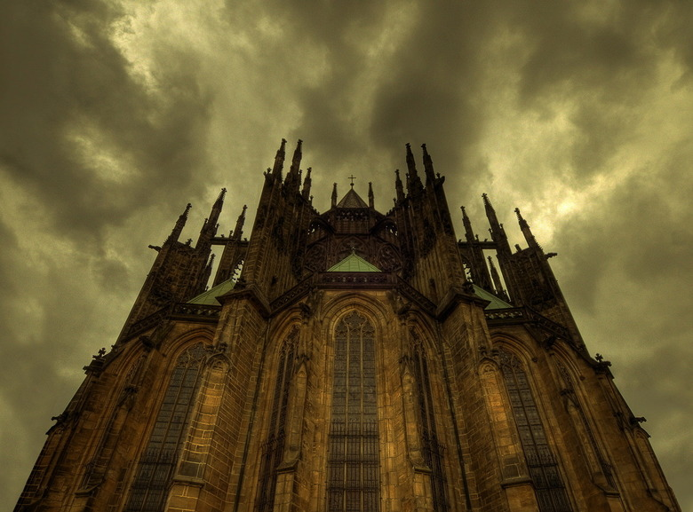 St Vithus kathedraal Praag - Titel zegt voldoende... Ben een beetje druk ivm werk, maar ga proberen achterstand in te halen.<br /> <br /> Iedereen i
