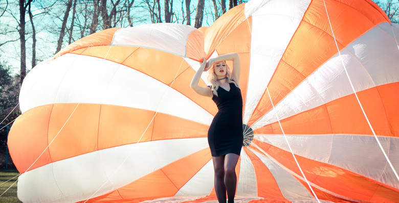 take your parachutte and go - Model Manon Anne Rosalie