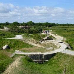 Normandië - Het kraterlandschap van Pointe du Hoc