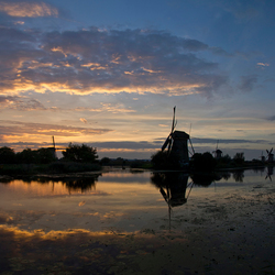 Kinderdijk zonsondergang 09-11