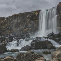 Oxarárfoss, Iceland