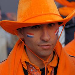 Oranje cowboy