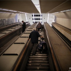 Maastunnel, Rotterdam,