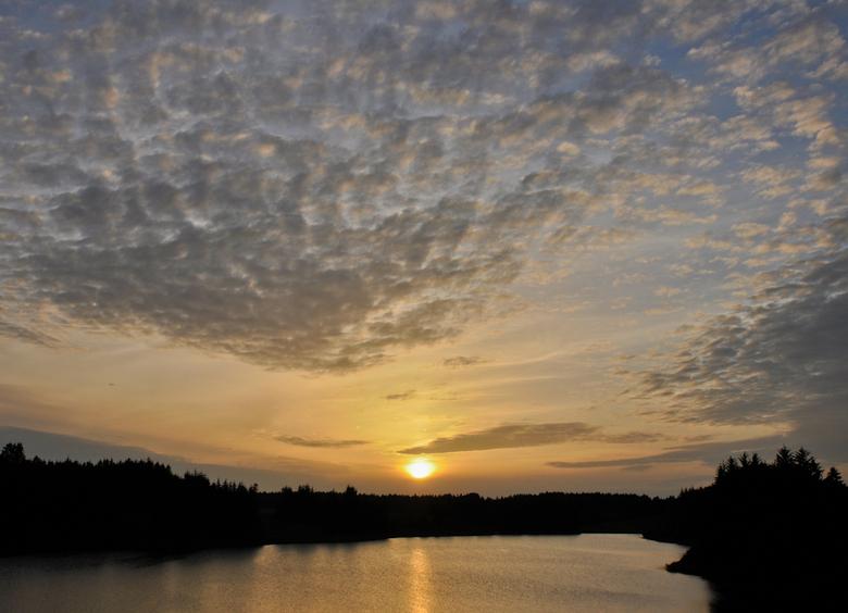 Zonsondergang in Denemarken - Foto afgelopen zomer gemaakt in Denemarken