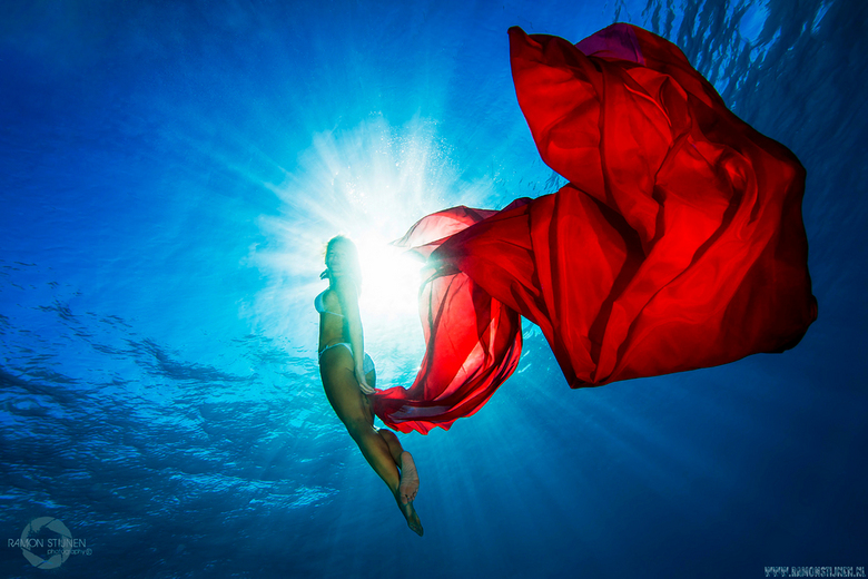 Red Sea Beauty - Fotoshoot in Hurghada, Egypte.