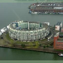 Luchtfoto Venetië-hof, Amsterdam