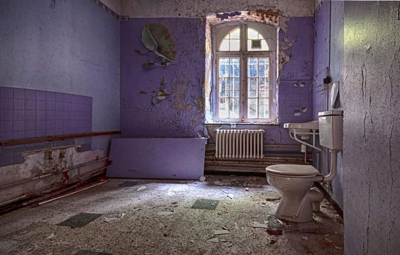 Purple - bathroom