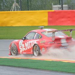 Porsche door waterspoor