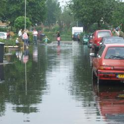 wateroverlast in 2007