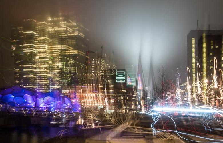 Rotterdam in de mist 1