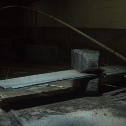 verlaten stal