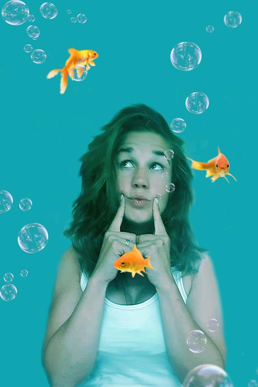 Goldfish - **Blub!**