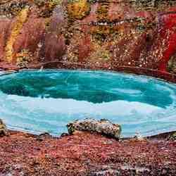Kerio crater Iceland