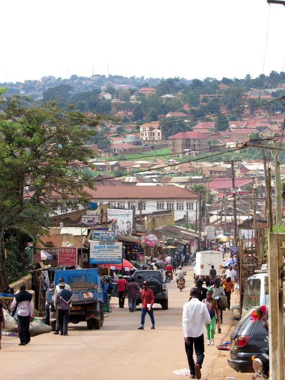 Streets of Kampala - Kampala, Uganda
