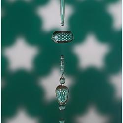 Christmas jewels (falling drops)