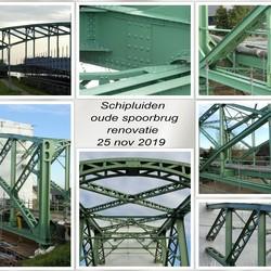 collage   Schipluiden oude spoorbrug renovatie 25 nov 2019