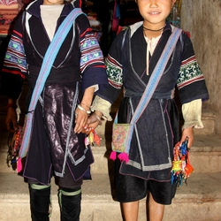 Black Hmong Girls