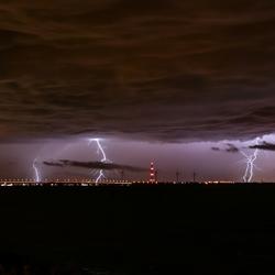 Onweer donderdagavond