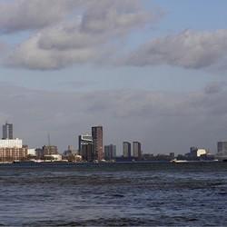 Skyline  Rotterdam 26-03-2016