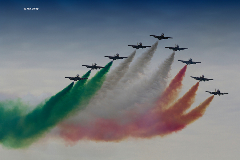 Tricolore - Display team Italiaanse luchtmacht 'Tricolore""
