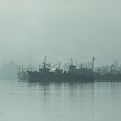 Ambon - Mistige morgen