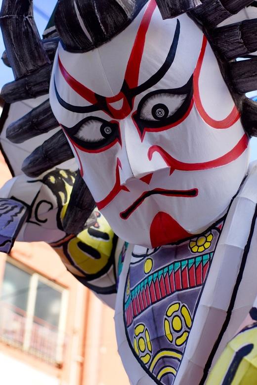 """Inflatable Samurai - ...een """"test-run"""" met mijn nieuwe 50mm lens die ik zojuist gekocht had.<br /> Gelukkig is er in de straten van Kyōtō altijd iets"""
