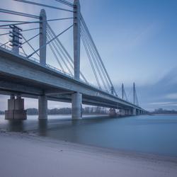 Bridge on morning light