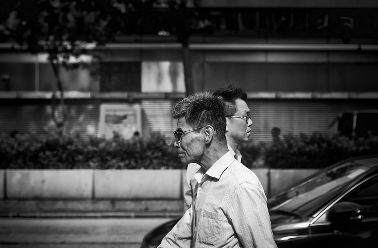 passers-by -