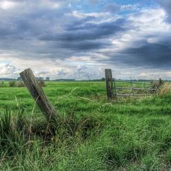 HDR landschap.