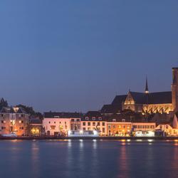 PANORAMA Skyline van Dordrecht
