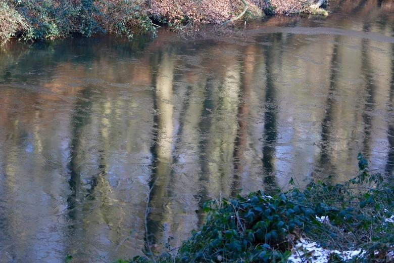 bevroren reflectie