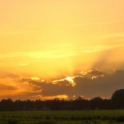 SunSet over KlarenBeek