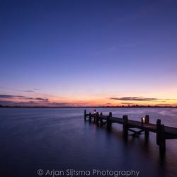 Blauwe uurtje aan het Lauwersmeer