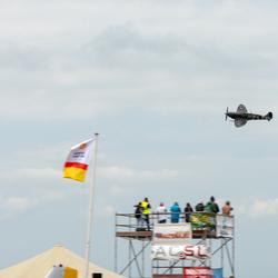 Spitfire fly by