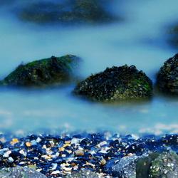 stones in the fog