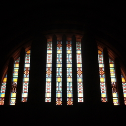 Glas in lood, Volkerschlachtdenkmal
