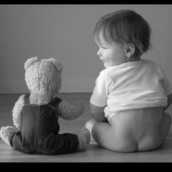 Mijn beer en ik.