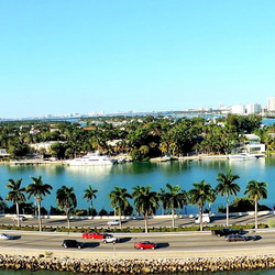 Panorama view Miami