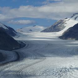 Salmon Glacier (ligt in Canada maar bereikbaar via Alaska)