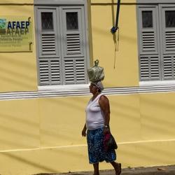 Vrouw in Brazilië