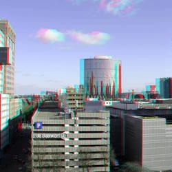 uitzicht over Rotterdam 3D
