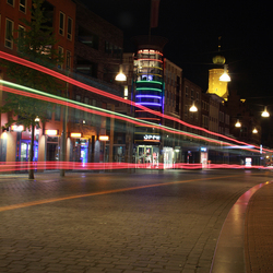 Neonkleuren door Nijmegen