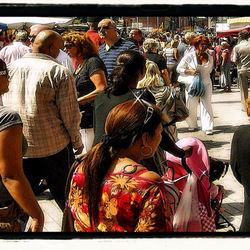 Op een Rotterdamse markt