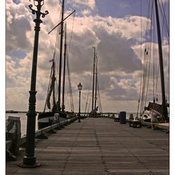 Bewerking: De haven van Hoorn